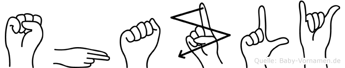 Shazly in Fingersprache für Gehörlose