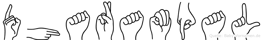 Dharampal in Fingersprache für Gehörlose