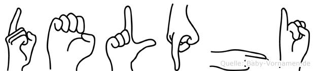 Delphi in Fingersprache für Gehörlose