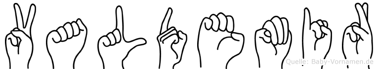 Valdemir in Fingersprache für Gehörlose