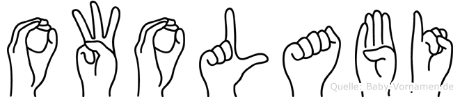 Owolabi in Fingersprache für Gehörlose
