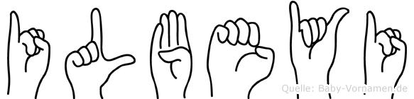 Ilbeyi in Fingersprache für Gehörlose
