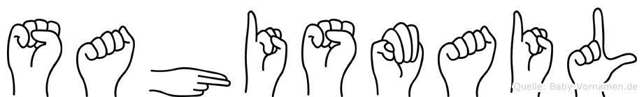 Sahismail in Fingersprache für Gehörlose