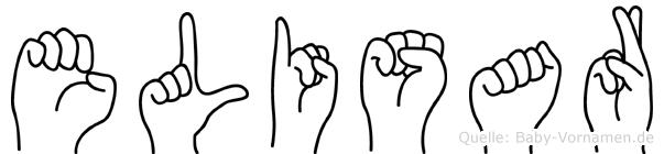 Elisar in Fingersprache für Gehörlose