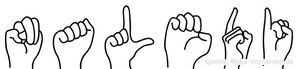 Naledi in Fingersprache für Gehörlose