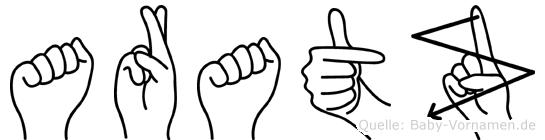 Aratz in Fingersprache für Gehörlose