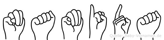 Namida in Fingersprache für Gehörlose