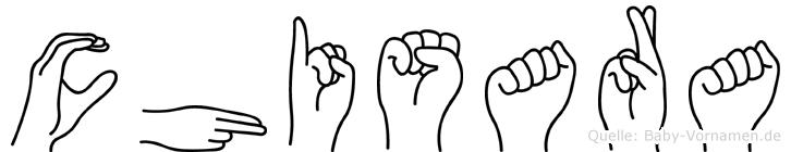 Chisara in Fingersprache für Gehörlose