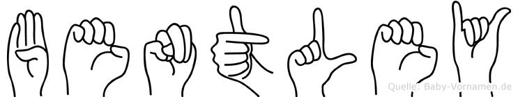 Bentley in Fingersprache für Gehörlose