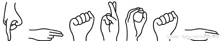 Pharoah in Fingersprache für Gehörlose