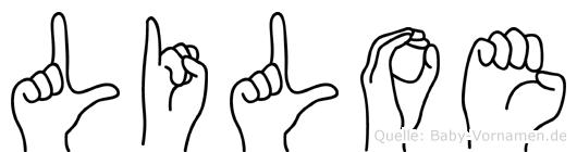 Liloe in Fingersprache für Gehörlose