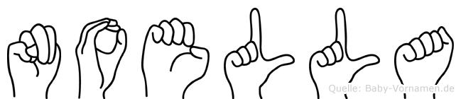Noella in Fingersprache für Gehörlose