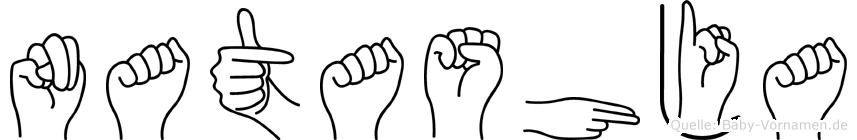 Natashja in Fingersprache für Gehörlose