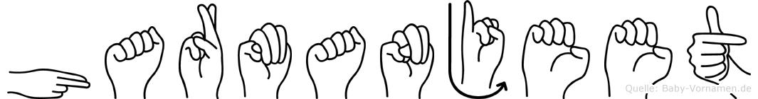 Harmanjeet im Fingeralphabet der Deutschen Gebärdensprache