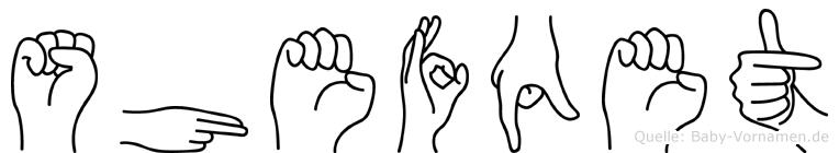 Shefqet in Fingersprache für Gehörlose