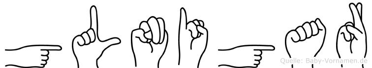 Gülnigar in Fingersprache für Gehörlose