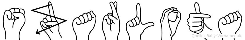 Szarlota im Fingeralphabet der Deutschen Gebärdensprache