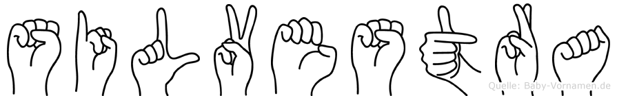 Silvestra in Fingersprache für Gehörlose