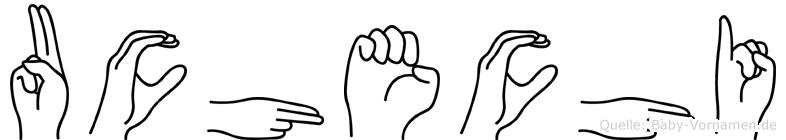 Uchechi in Fingersprache für Gehörlose