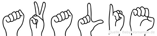 Avalie in Fingersprache für Gehörlose