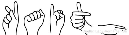 Kaith in Fingersprache für Gehörlose