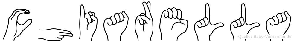 Chiarella in Fingersprache für Gehörlose