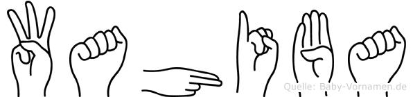 Wahiba in Fingersprache für Gehörlose