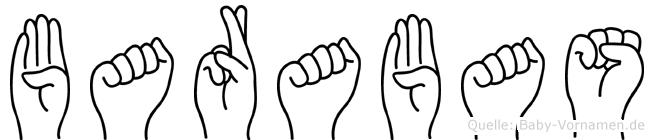 Barabas in Fingersprache für Gehörlose