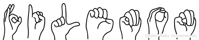 Filemon in Fingersprache für Gehörlose