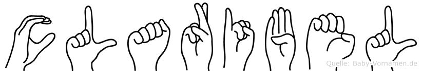 Claribel in Fingersprache für Gehörlose