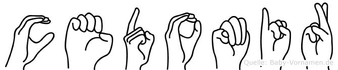 Cedomir in Fingersprache für Gehörlose