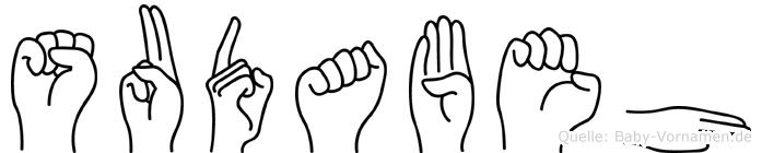 Sudabeh in Fingersprache für Gehörlose