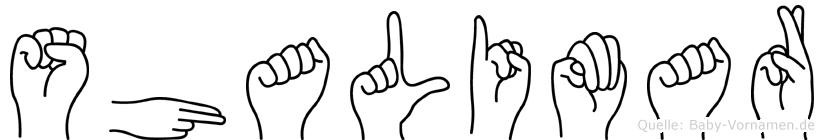 Shalimar in Fingersprache für Gehörlose