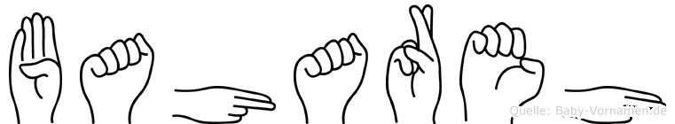 Bahareh im Fingeralphabet der Deutschen Gebärdensprache