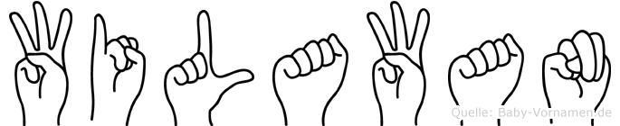 Wilawan in Fingersprache für Gehörlose