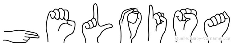 Heloisa in Fingersprache für Gehörlose