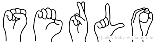 Serlo in Fingersprache für Gehörlose