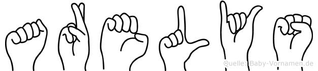 Arelys in Fingersprache für Gehörlose