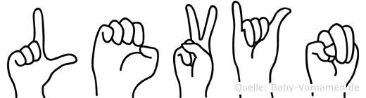 Levyn in Fingersprache für Gehörlose