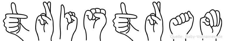 Tristram in Fingersprache für Gehörlose