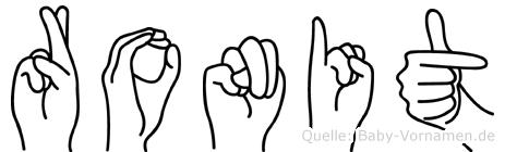 Ronit in Fingersprache für Gehörlose