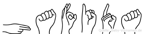 Hafida in Fingersprache für Gehörlose