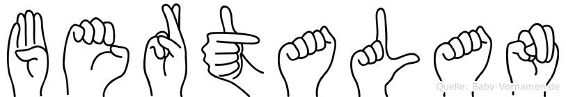 Bertalan in Fingersprache für Gehörlose