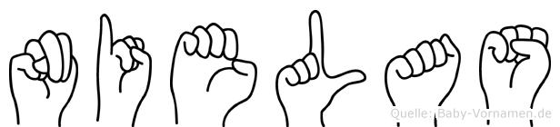 Nielas in Fingersprache für Gehörlose