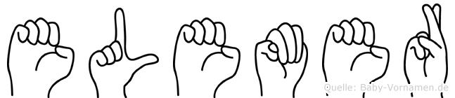 Elemer in Fingersprache für Gehörlose