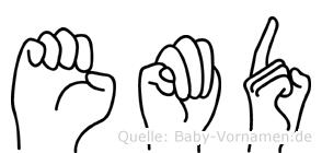 Emöd in Fingersprache für Gehörlose