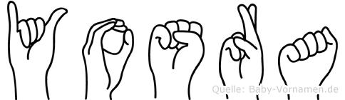 Yosra in Fingersprache für Gehörlose