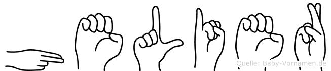 Helier in Fingersprache für Gehörlose