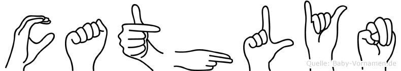 Cathlyn in Fingersprache für Gehörlose