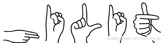 Hilit in Fingersprache für Gehörlose